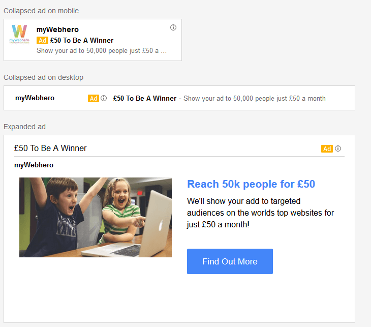 advertise on gmail