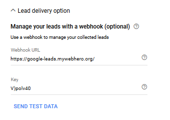 Google Lead Forms Email Integration